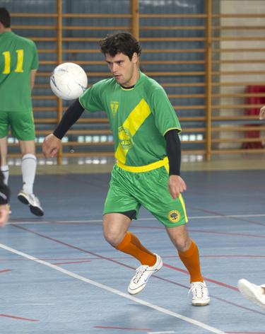 Miguel Abellán ha cambiado el coso por un campo de fútbol-sala