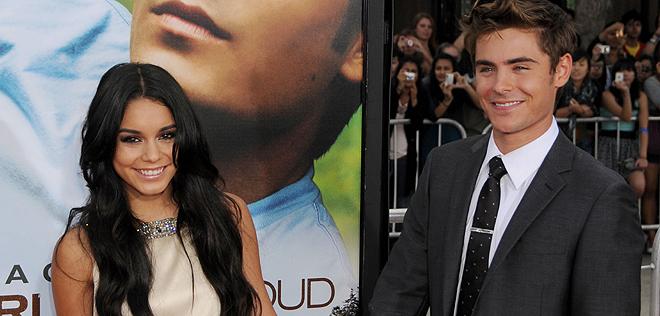 Zac Efron y Vanessa Hudgens separados, fin del romance