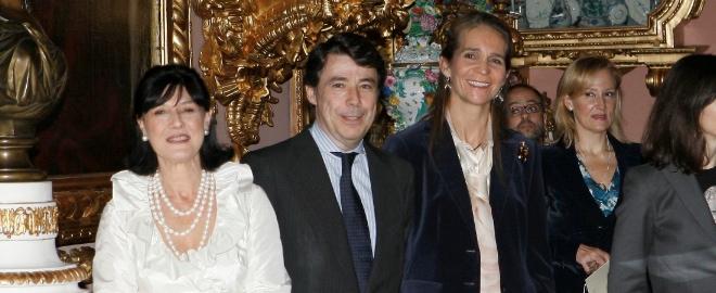 La infanta Elena en la reinaguración del Museo Cerralbo en Madrid