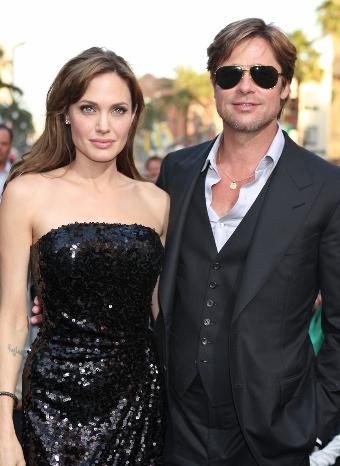 El matrimonio de Angelina Jolie y Brad Pitt el más estiloso de 2010