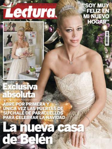 Belén Esteban enseña a través de una exclusiva y vestida como una verdadera princesa su casa de Paracuellos del Jarama