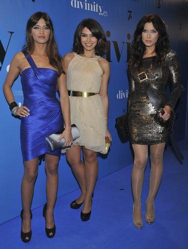 Sara Carbonero, Pilar Rubio y Marta Fernández, trío de ases para presentar las campanadas de 2010 de Telecinco
