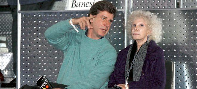 La Duquesa de Alba y su hijo Cayetano Martínez de Irujo no quisieron perderse el partido que enfrentó a Rafa Nadal contra Roger Federer por la Fundación Rafa Nadal