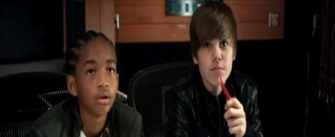 Justin bieber y jaden smith juntos en un videoclip