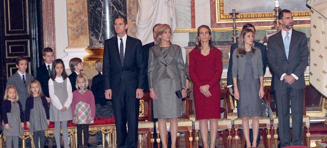 La Familia Real homenajea a la madre del Rey en el centenario de su nacimiento