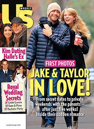 Jake gyllenhaal y taylor swift