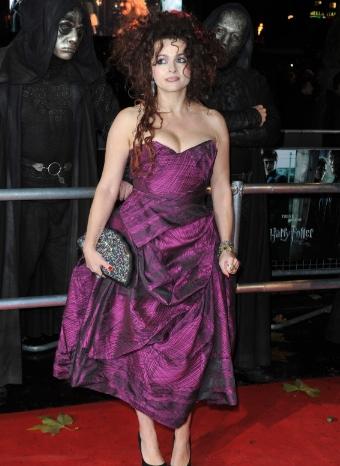 Helena Bonham Carter está nominada a los Globos de Oro