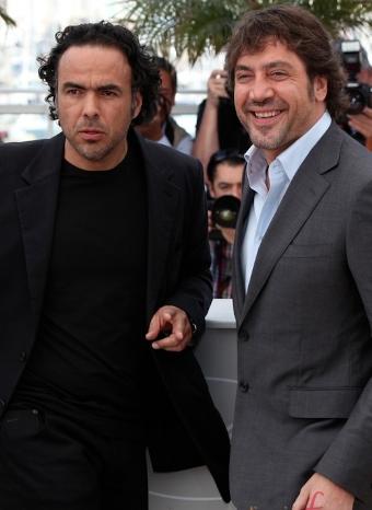 Bardem e Iñárritu en el Festival de Cannes