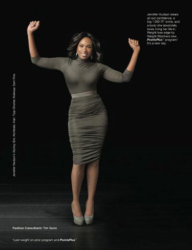 Jennifer Hudson, muy orgullosa de su nueva figura tras su increíble pérdida de peso