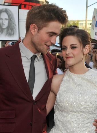 Robert Pattinson y Kristen Stewart juntos