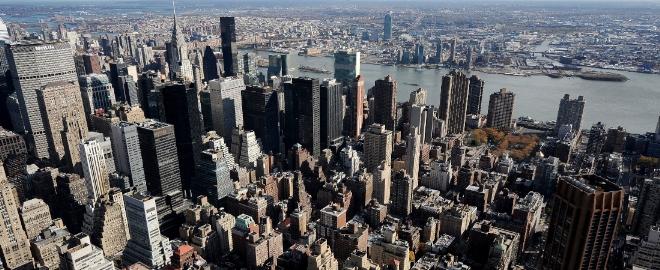 Panorámica de la espectacular ciudad de Nueva York