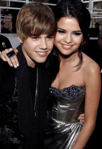 Justin Bieber y selena gómez