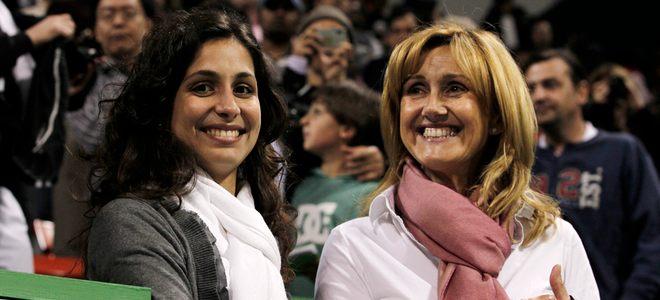 Xisca Perelló, novia de Rafa Nadal, su mejor apoyo en Qatar