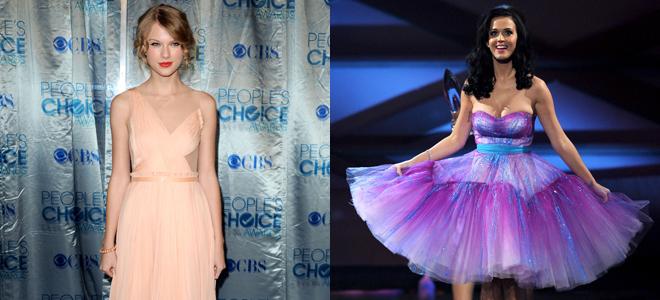 Katy Perry y Taylor Swift, dos princesas en los