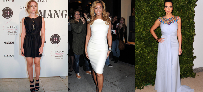 Scarlett Johansson, Beyoncé o Kim Kardashian: ¡Arriba las curvas!