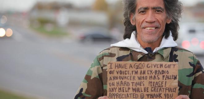 Ted Williams con su cartel