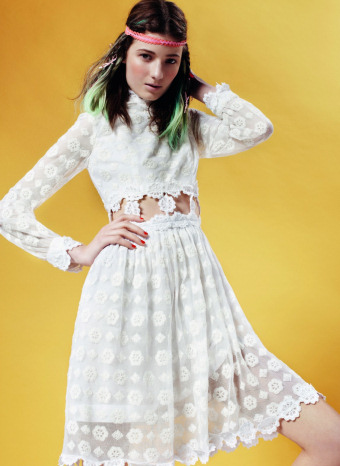 Vestido de Topshop p/v 2011