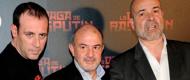 Antonio Morelo, Antonio Resines y Jesús Bonillas, reencuentro en 'La daga de Rasputín'
