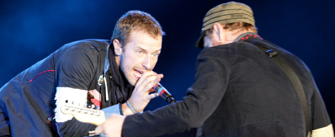 Coldplay en el bilbao bbk live 2011