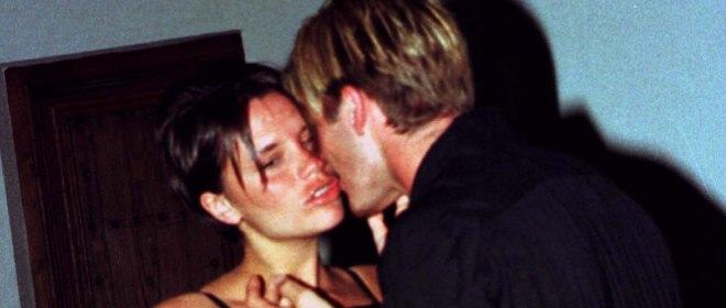Victoria Beckham borracha con su marido David Beckham
