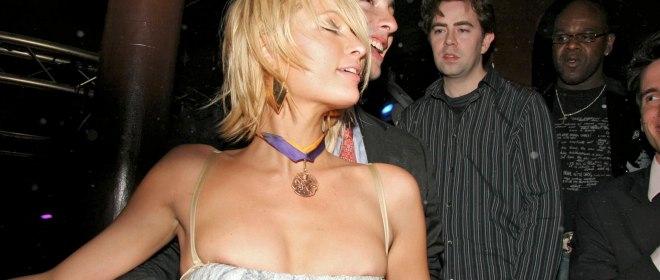 Paris Hilton borracha