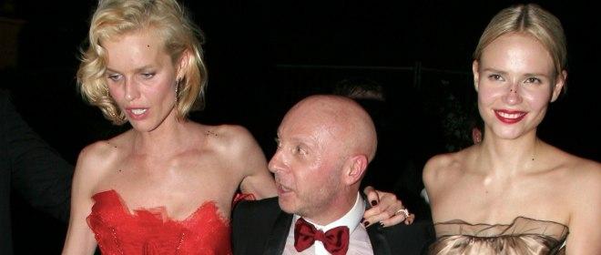 Eva Herzigová borracha en Cannes
