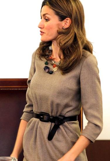 Primera aparición de la Princesa Letizia tras los rumores de su tercer embarazo