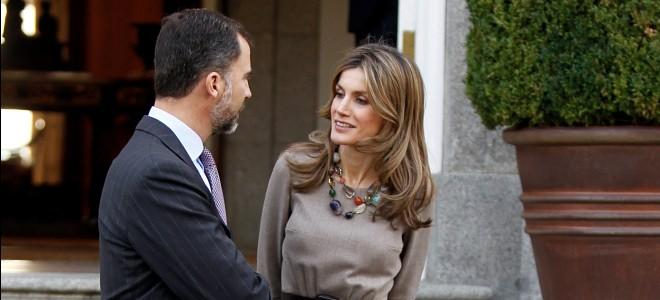 Primera aparición de la Princesa Letizia junto al Príncipe Felipe tras los rumores de su tercer embarazo
