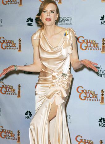 Nicole Kidman en los globos de oro