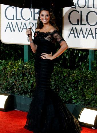Penelope Cruz en los globos de oro