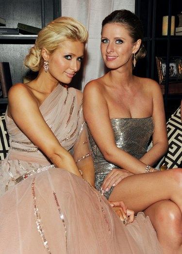 Paris Hilton no quiso perderse la fiesta posterior a los Globos de Oro 2011