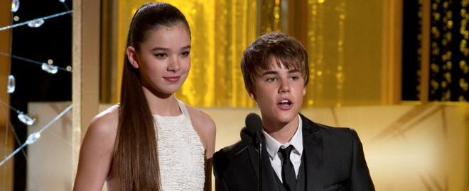 Justin Bieber en los Globos de Oro
