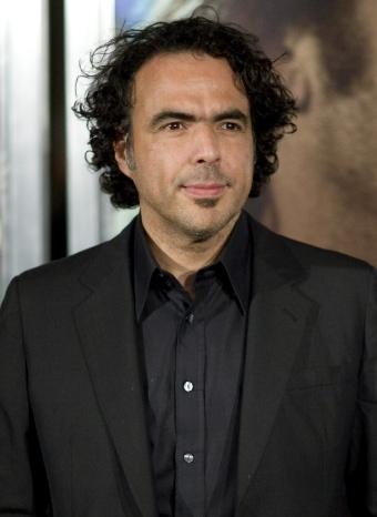 Alejandro González Iñárritu en la premiere de 'Biutiful'