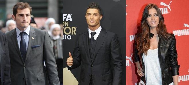 Cristiano Ronaldo, reconciliado con Iker Casillas y Sara Carbonero pero enfrentado a Sergio Ramos