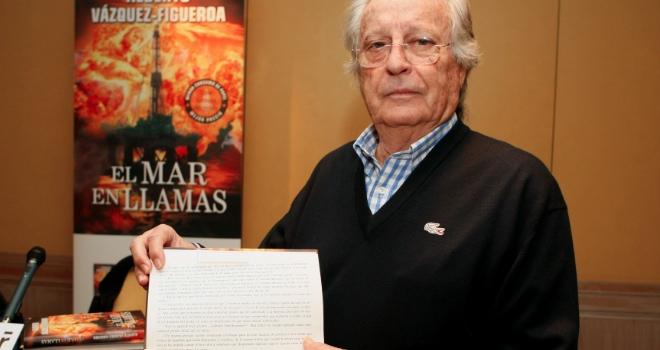 Alberto Vázquez Figueroa y su nuevo invento