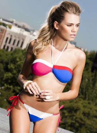 Bikini bicolor de R&S