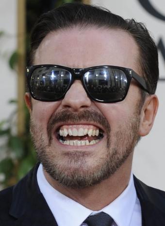 Ricky Gervais, el presentador más polémico de los Globos de Oro 2011