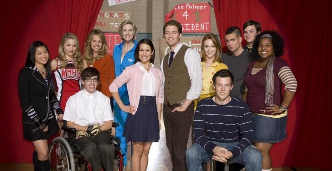 elenco de la serie 'Glee'
