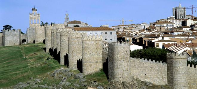 Las murallas de Ávila. Foto:GTres