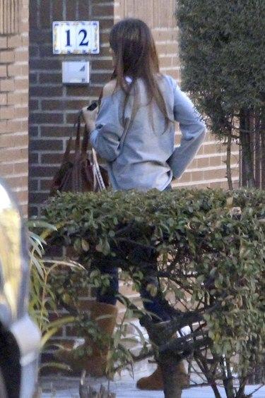 Iker Casillas y Sara Carbonero, tarde de recados y visitas por separado
