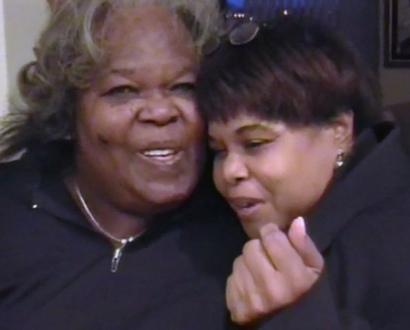 la hermana y la madre de oprah