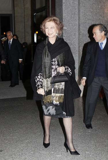 La Reina Sofía y la Infanta Elena, juntas en la ópera de Plácido Domingo
