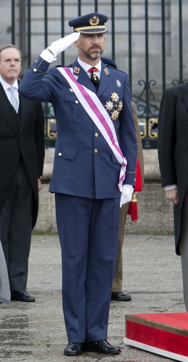 El Príncipe Felipe celebra su 43 cumpleaños al lado de doña Letizia