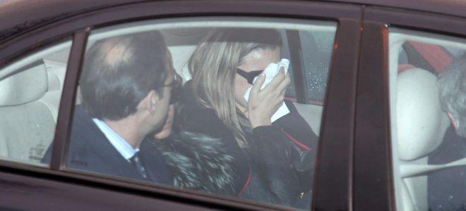 Fotos Toni Cantó y Eva Cobo, rotos de dolor en el funeral de su hija Carlota Cantó