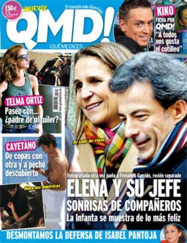 Nuevas imágenes de la Infanta Elena junto a su jefe Fernando Garrido