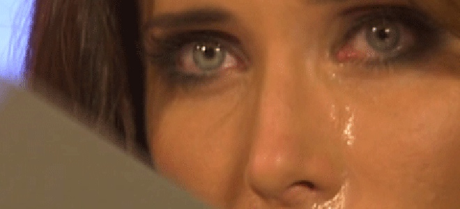 Pilar Rubio llora en OT. Fuente: TeleCinco