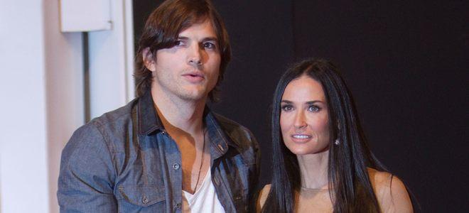 Ashton Kutcher, modelo de lujo en la Semana de la Moda de Sao Paulo, acudió junto a su mujer Demi Moore
