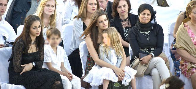 Carlota Cantó Cobo en la boda de Toni Cantó e Inma Suárez