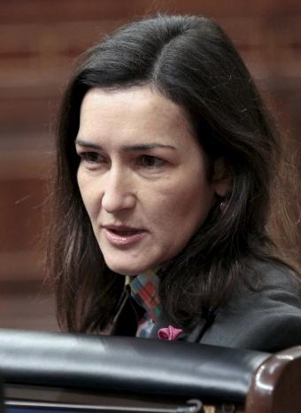 Ángeles González-Sinde está impaciente por ver los Goya 2011