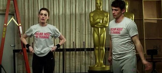 James Franco y Anne Hathaway auguran mucho humor para los Oscars 2011